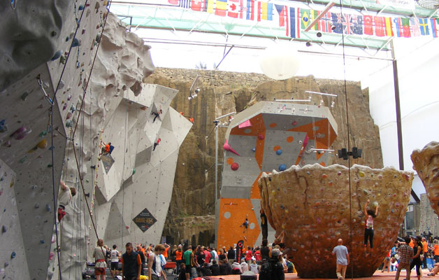 Edinburg International Climbing Arena.