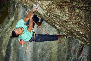 Said Belhaj gör Action Directe (9a)